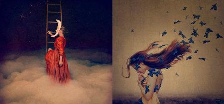 Las fotografías de Brooke Shaden nos transportan a un mundo de fantasias propio de finales del siglo XIX