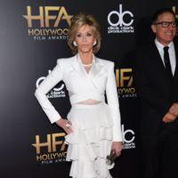 Jane Fonda y sus volantes