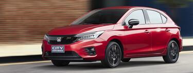 El Honda City Hatchback es más largo que un Golf y reemplazará al Fit en Latinoamérica