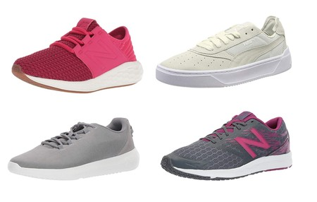 Chollos en tallas sueltas de zapatillas New Balance, Puma o Under Armour por menos de 30 euros en Amazon