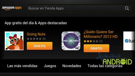 Portada de Amazon App Store España