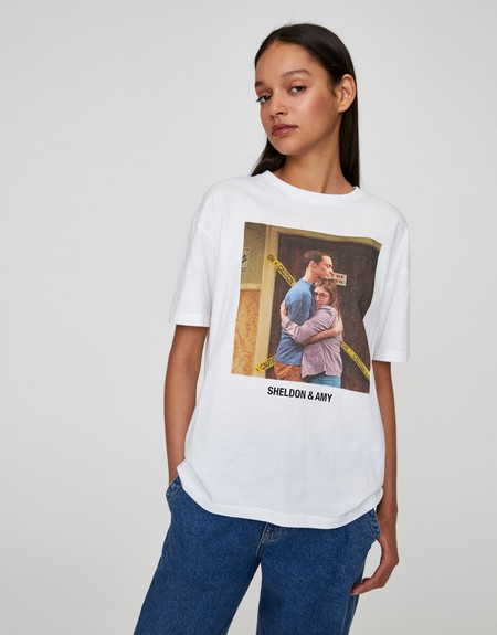 Pull Bear Camiseta Series Tv 06
