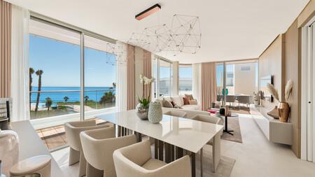 The Edge: un impresionante ático con terraza y tres dormitorios con interiorismo de Femont Galvan