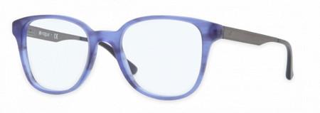 gafa ovalada azul vogue