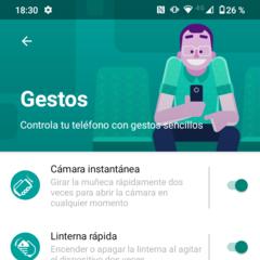 Foto 11 de 25 de la galería android-11-moto-app-launcher en Xataka Móvil