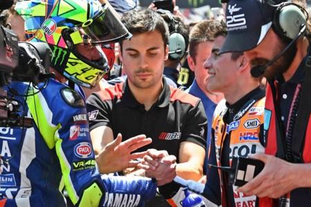 """Valentino Rossi tras el GP de Catalunya: """"Estrecharnos la mano era lo correcto"""""""