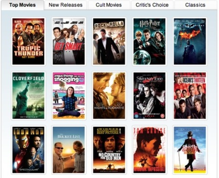 Samsung vende películas para el ordenador y el móvil