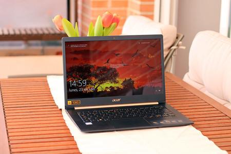 Acer Swift 5, análisis: no ganará ninguna carrera de potencia, pero sí la de la ligereza y portabilidad