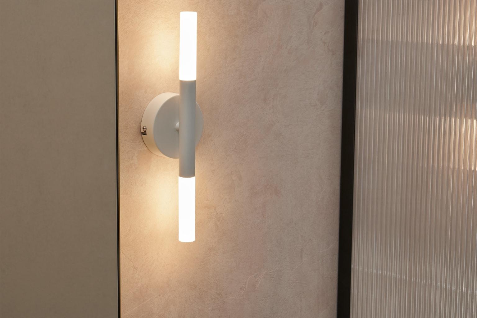 Lámpara de pared para baño