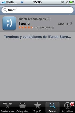 Tuenti lanza su aplicación oficial para el iPhone