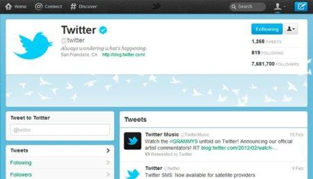 Las páginas de empresa más populares en Twitter