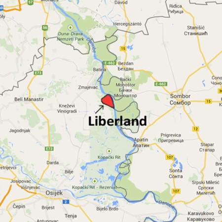 Liberland Map