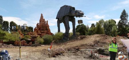¡Primera foto en 360º! Comienzan las obras del parque temático de Star Wars