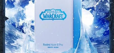 Xiaomi lanzará una edición especial 'World of Warcraft' del Redmi Note 8 Pro para celebrar el 15 Aniversario del juego