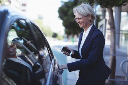 Pasajero Subiendo Uber