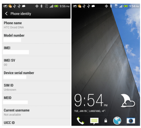 HTC Sense 5.0 en una galería de imágenes