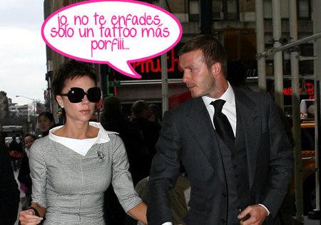 Victoria Beckham se mosquea con su marido