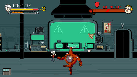 Final Boss Super Science Friends The Video Game