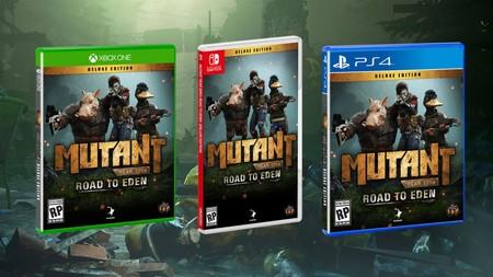 Mutant Year Zero: Road to Eden  llegará en junio a Nintendo Switch  junto con las ediciones en físico de PS4 y Xbox