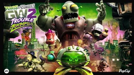 El verano será más divertido con la llegada del DLC Trouble in Zombopolis de PvZ: Garden Warfare 2