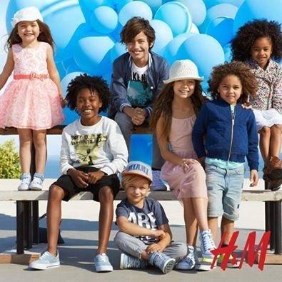 H&M nos propone tener un 20 % de descuento en su línea infantil