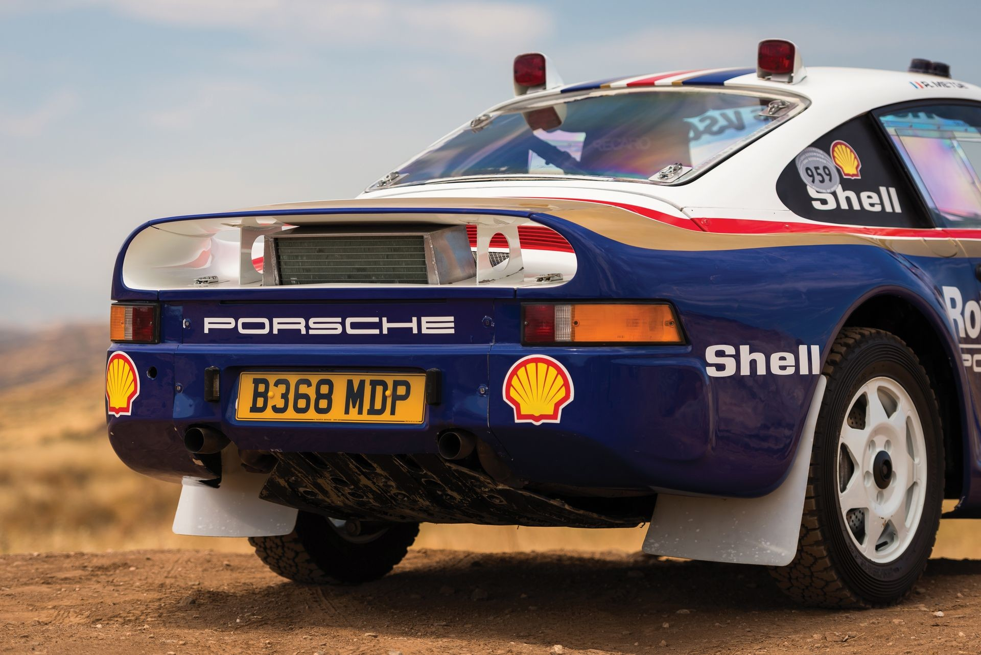 Foto de Porsche 959 Paris-Dakar (19/24)