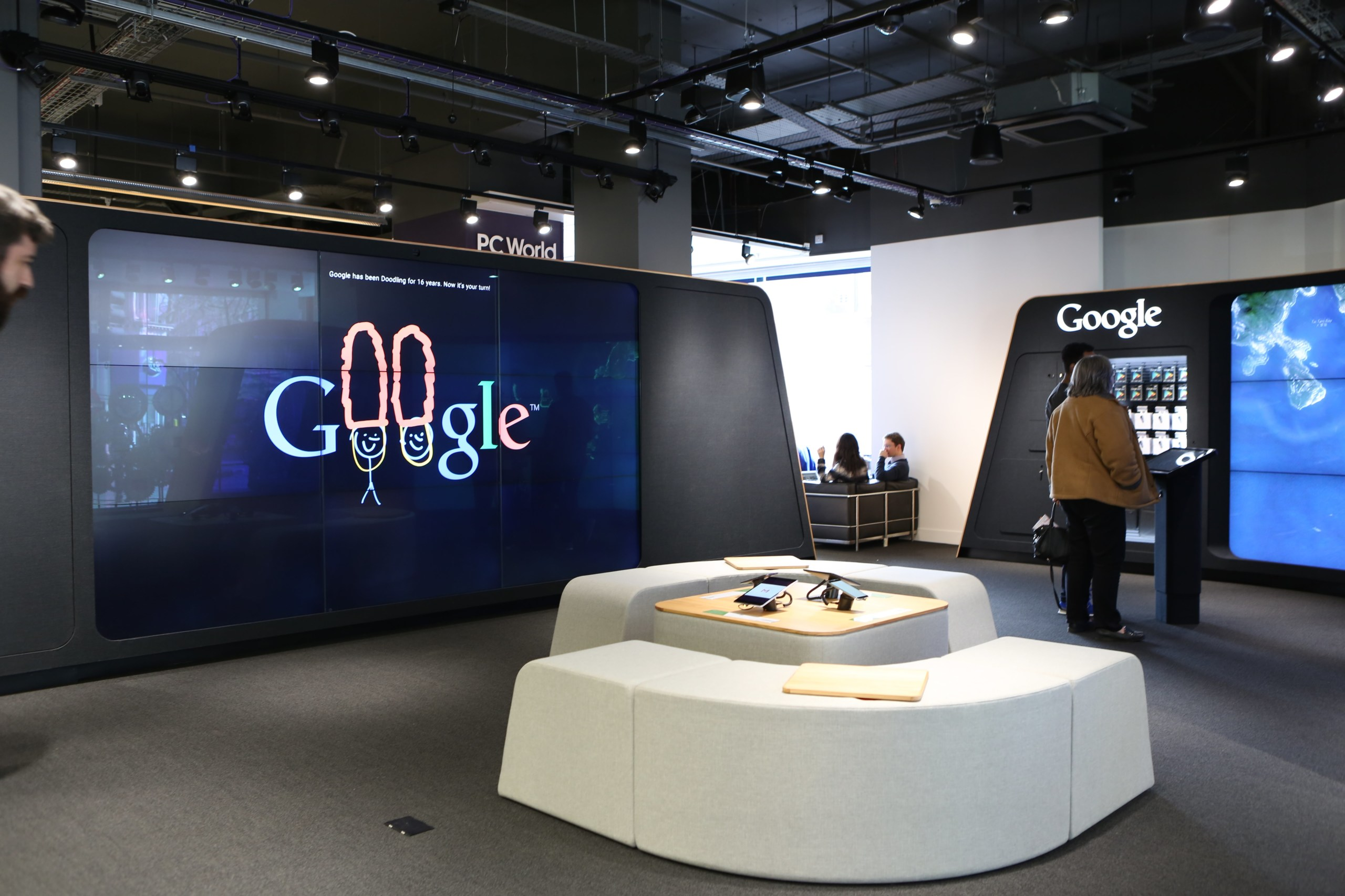 Google Shop Londres