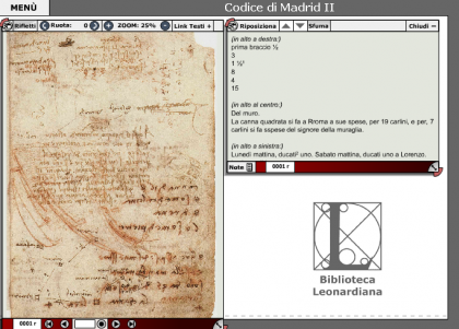 E-Leo el mundo de Leonardo da Vinci a nuestro alcance