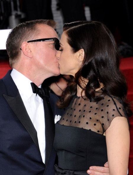 Las parejas de los Globos de Oro 2013: con amor y algo de estilo