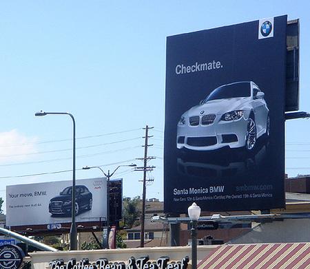 Audi y BMW en guerra publicitaria