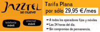 """Jazztel móvil lanza """"tarifas planas de voz"""" y mejora su internet móvil"""