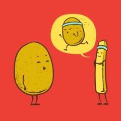 Foto 1 de 15 de la galería caricaturas-con-comida en Trendencias Lifestyle