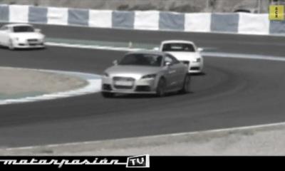 Motorpasion.tv: Audi driving experience en Jerez