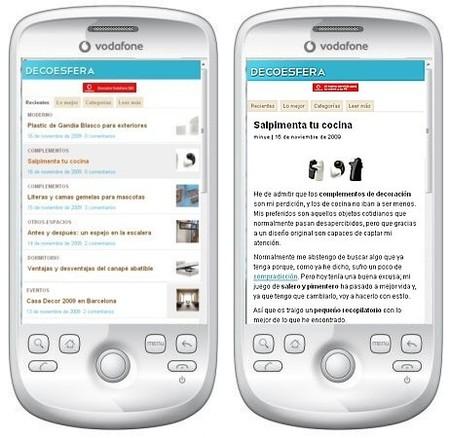 decoesfera versión móvil