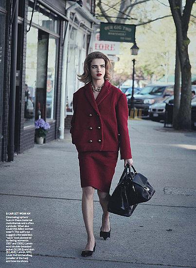 Foto de Natalia Vodianova en Vogue Estados Unidos estilo años 60 (9/10)
