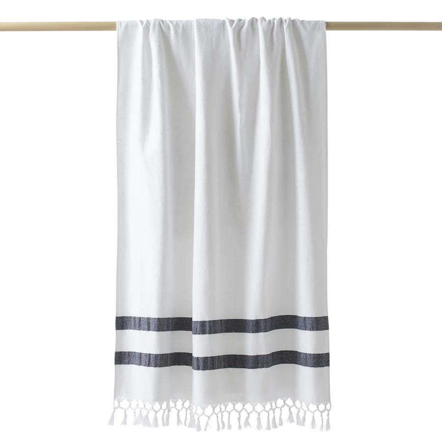 Fouta formato toalla de playa con reverso de felpa, Antalya