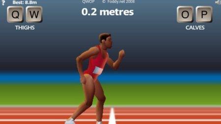 """'QWOP'. 100 metros lisos con """"muchos obstáculos"""""""