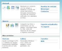 Panel único para los servicios Windows Live