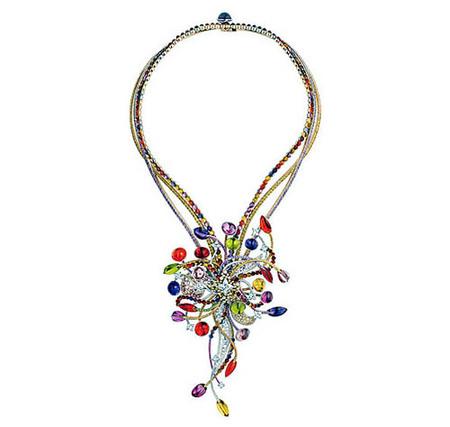 El collar más lujoso de Louis Vuitton