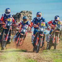KTM saca músculo: Este vídeo muestra toda la artillería austriaca para el Rally Dakar 2019
