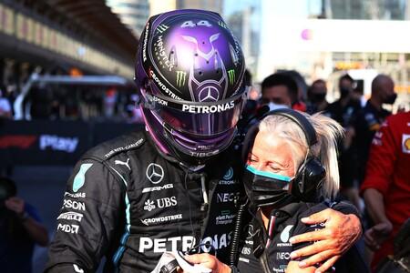 Hamilton Azerbaiyan F1 2021 2