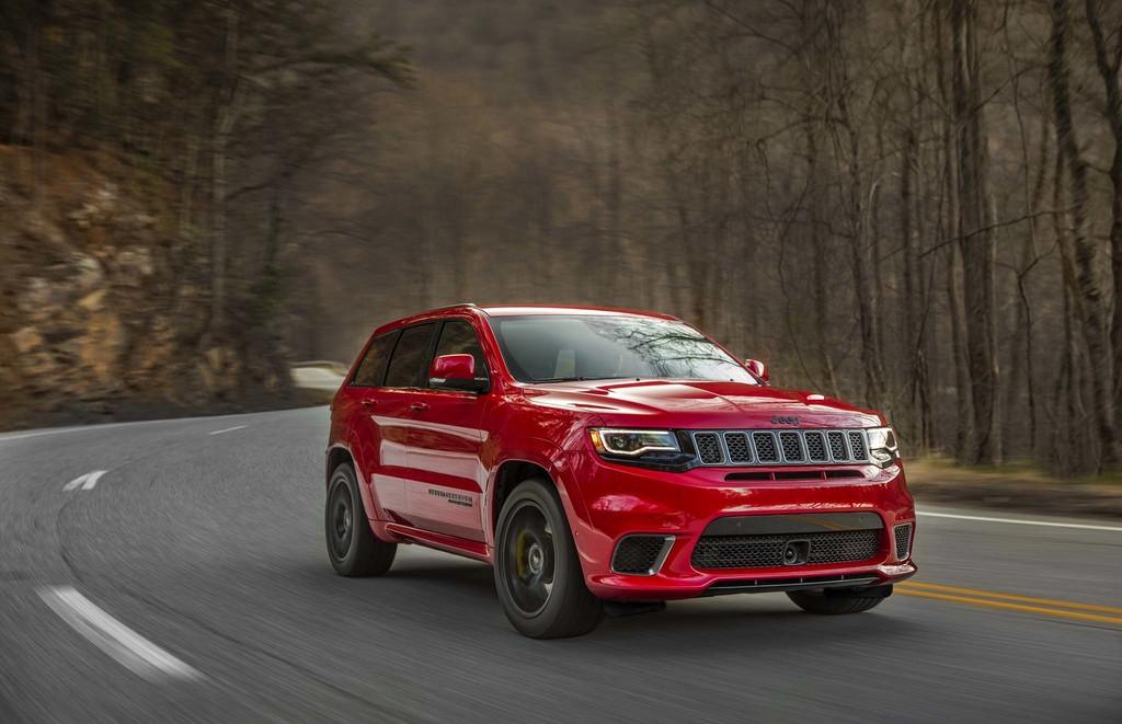 Jeep Gran Cherokee Trakhawk 2017 17
