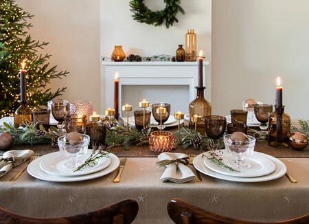 27 manteles de Navidad para sorprender a tus invitados