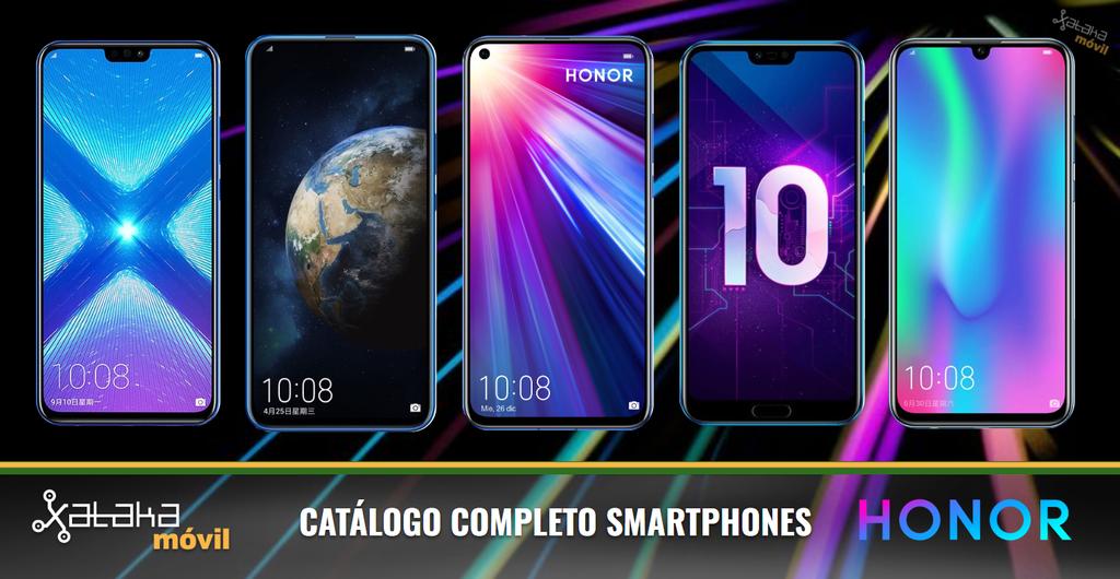 Honor View20, así encaja adentro del catálogo completo de teléfonos Honor en 2019