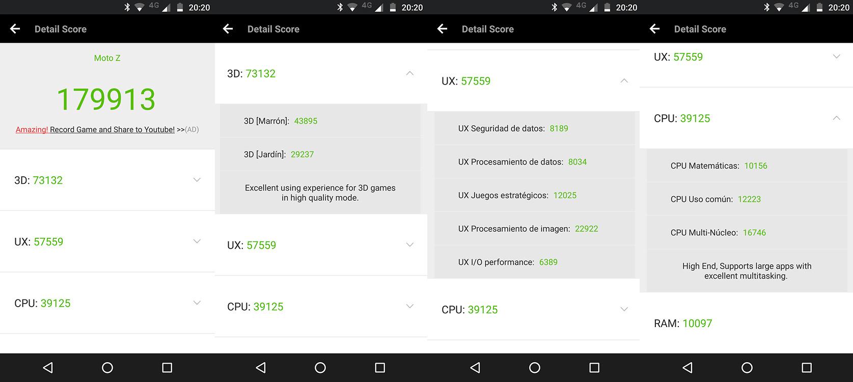 Foto de Moto Z2 Force, benchmarks (1/7)