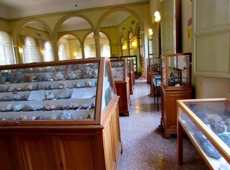 Museo Mineralogía Bolonia