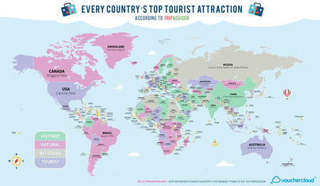 mejor atraccion turistica mundial