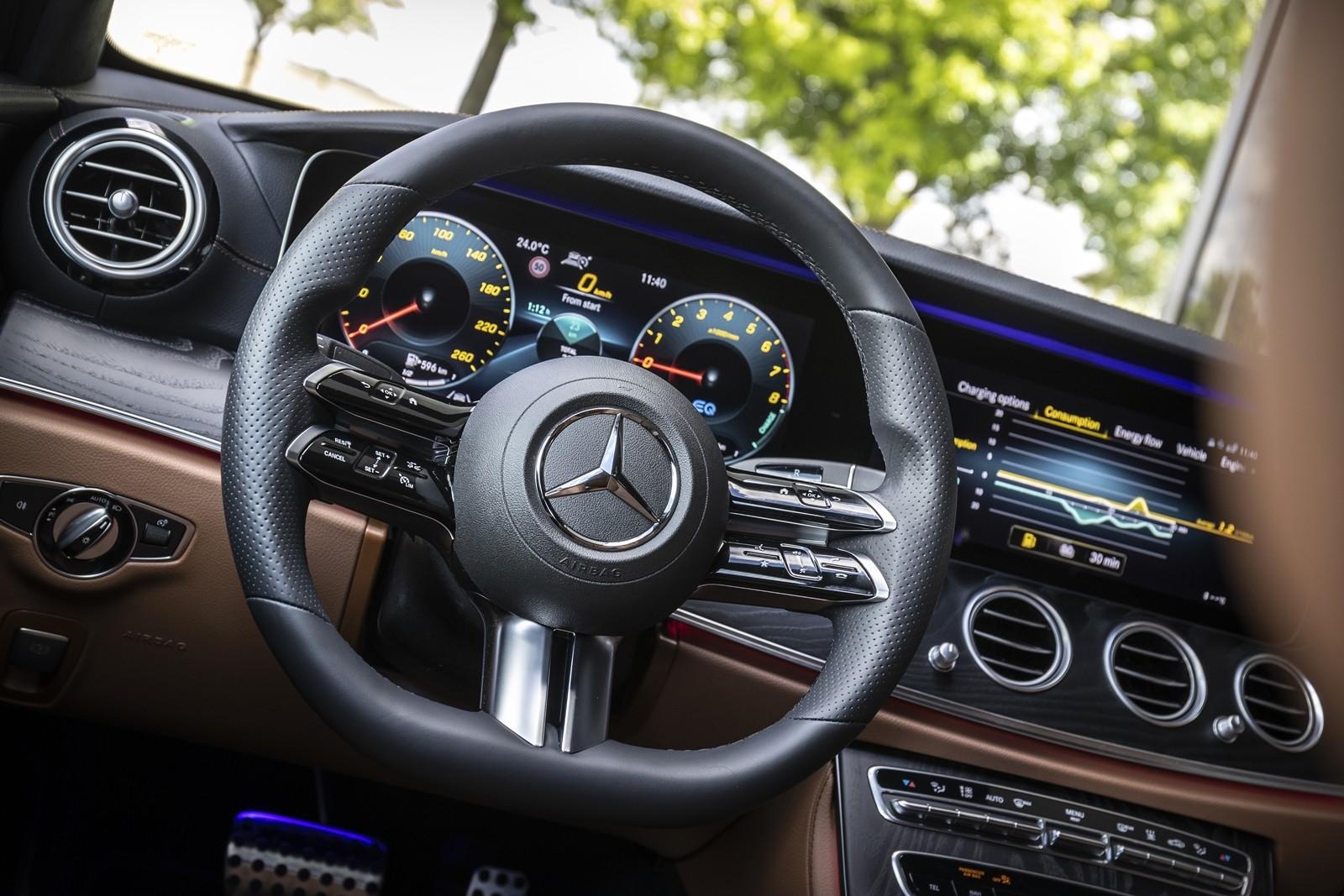 Foto de Mercedes-Benz Clase E 2020, prueba contacto (55/135)