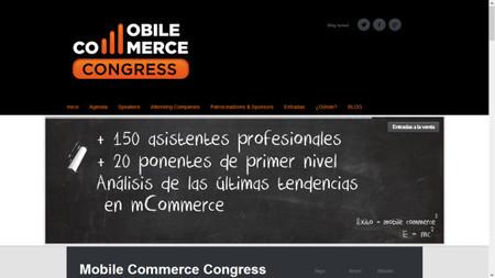 Llega el Mobile Commerce Congress, el evento sobre e-commerce desde dispositivos móviles