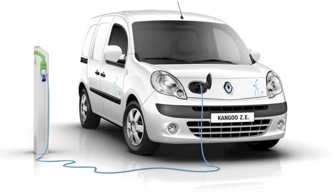 Venta de coches híbridos y eléctricos - Renault Kangoo ZE